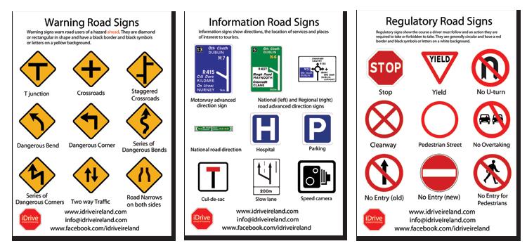 Motor Vehicle Signs Test Vehicle Ideas